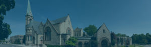 Top Ten Reasons to join Broad Street Presbyterian Church, panoramic photo of BSPC