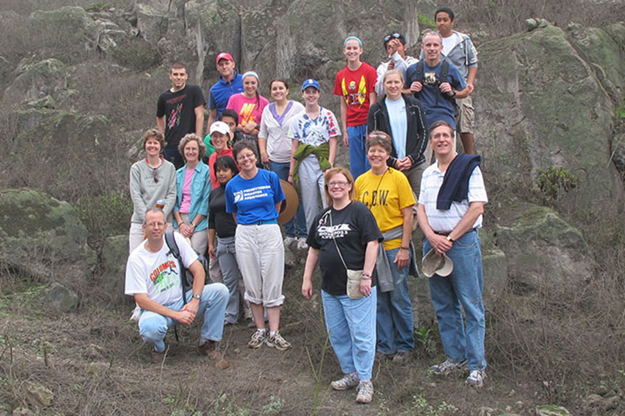Photo of group on a BSPC Mission Trip