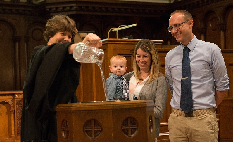 Baptism in the Sanctuary