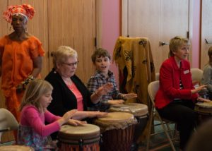 2018 iGen African Drumming and Movement Event with Tony and Aziza West