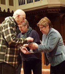 Feb. 14, 2018 Ash Wednesday Worship Service -- Communion