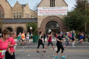 Broad Street Presbyterian Church Visitor Welcome Center for Columbus Marathon