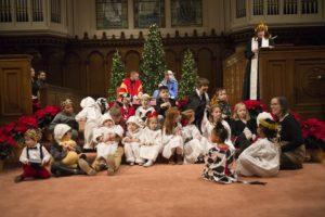 6:00 p.m. Candlelight Service on Christmas Eve - Children's Nativity