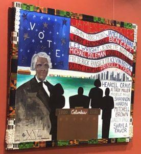 Eastside Arts Initiative Exhibition - Preserving the Legacy: James Preston Poindexter - Artist Shelbi Harris-Roseboro