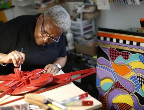 How Art Lifted Up This Columbus Artist