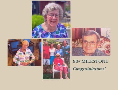 The 90+ Milestone – 2021